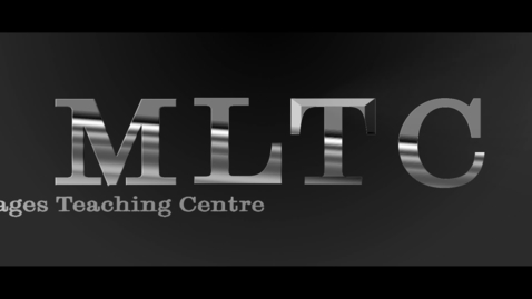 Thumbnail for entry MLTC German Beginner Testimonial