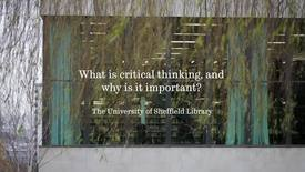 Thumbnail for entry What is critical thinking?