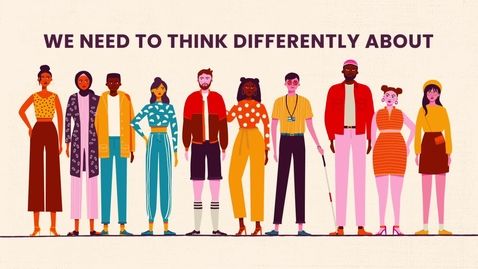Thumbnail for entry Racism - We need to think differently.