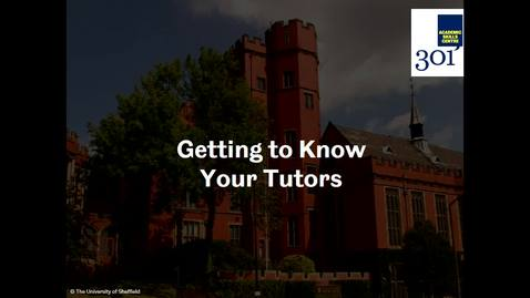 Thumbnail for entry What to Expect from Your Course Part 2 - Getting to Know Your Tutors