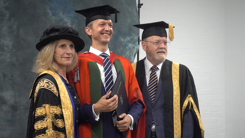 Thumbnail for entry Andy Haldane - Honorary Degree