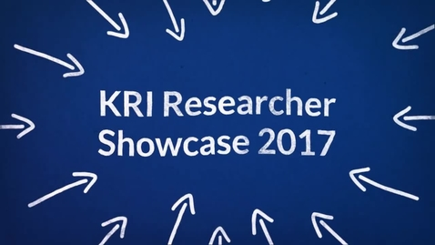 Thumbnail for entry 2017 researcher showcase