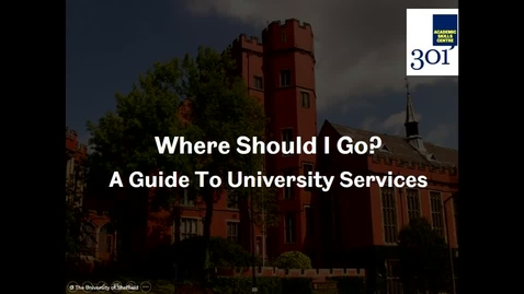 Thumbnail for entry What to Expect From Your Course Part 4 - Where Should I Go?