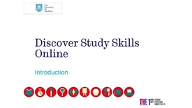 Thumbnail for entry Simple Screencast Example - (1.2 Introductory Unit: Discover Study Skills Online)