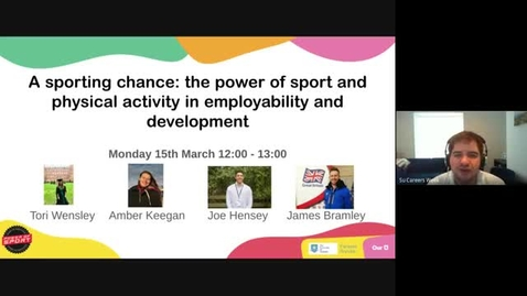 Thumbnail for entry A sporting chance: the power of sport and physical activity in employability and development
