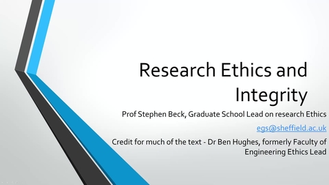 Thumbnail for entry 2 Introduction to good research.