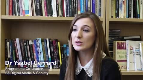 Thumbnail for entry BA Digital Media & Society themed routes