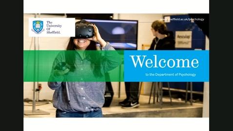Thumbnail for entry Psychology - Undergraduate webinar - June 12th