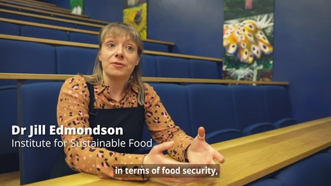 Thumbnail for entry Urban Horticulture - Dr Jill Edmondson