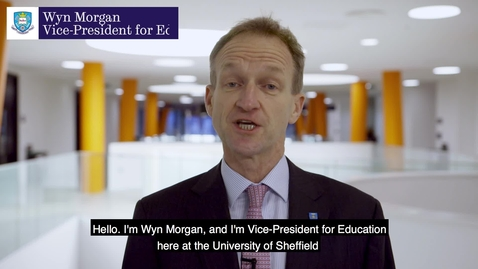 Thumbnail for entry NSS - Wyn Morgan's message to students