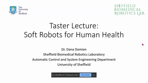 Thumbnail for entry An introduction to robotics taster lecture