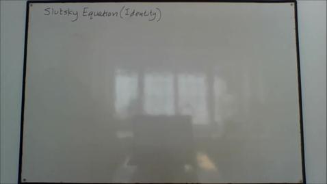 Thumbnail for entry MS6 - Slutsky equation