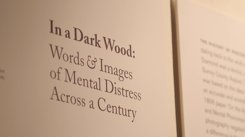 Thumbnail for entry In a Dark Wood: Words and Images of Mental Distress Across a Century