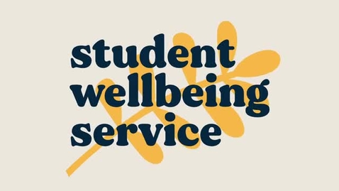 Thumbnail for entry Student Wellbeing Service
