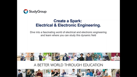 Thumbnail for entry Electrical Engineering Workshop - University of Sheffield International College.