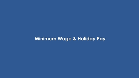 Thumbnail for entry Your Employment Rights
