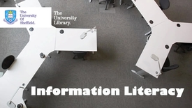 Thumbnail for entry Information literacy