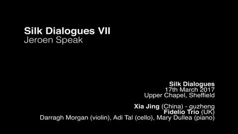 Thumbnail for entry Jeroen Speak - silk dialogues vii