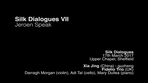 Thumbnail for entry Jeroen Speak - silk dialogues vii