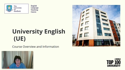 Thumbnail for entry University English - Introduction