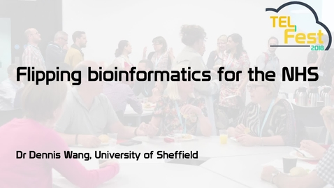Thumbnail for entry Flipping bioinformatics for the NHS