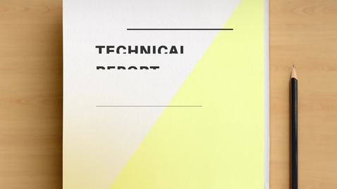 Thumbnail for entry 002. The Anatomy of a Technical Report