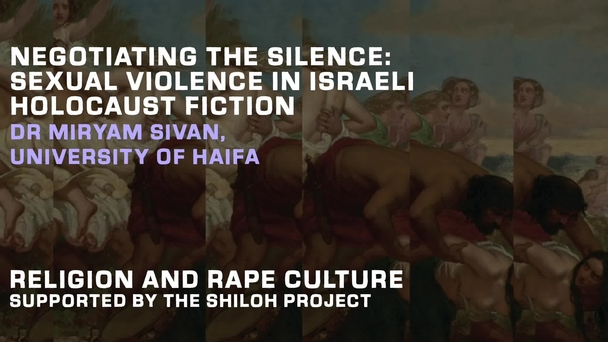 Religion And Rape Culture Conference Shiloh Project