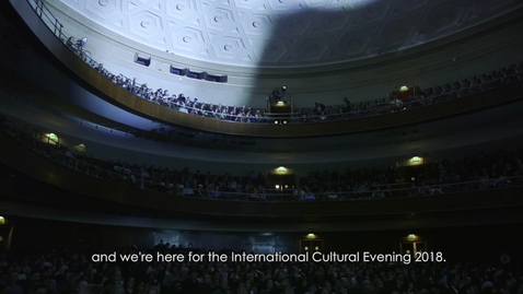 Thumbnail for entry International Cultural Evening 2018 (#WeAreInternational) - Longer version