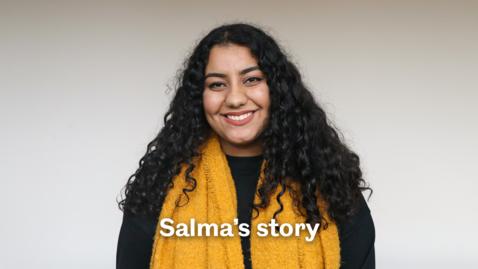 Thumbnail for entry Salma's story - Sheffield Scholarships