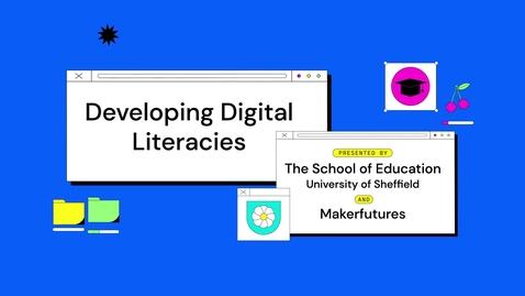 Thumbnail for entry Digital Literacies at the NVM