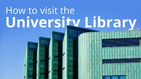 Thumbnail for entry Library Learning Spaces - booking spaces and safely using the Library