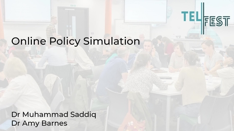 Thumbnail for entry Online Policy Simulation