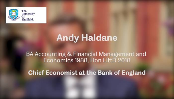 Andy Haldane - Chief Economist at the Bank of England