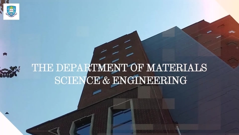 Thumbnail for entry Student life in the Department of Material Science and Engineering - The Student Life