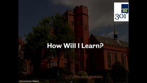 Thumbnail for entry What to Expect from Your Course Part 1 - How Will I Learn?