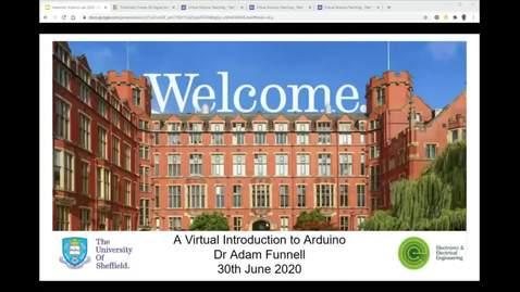 Thumbnail for entry Virtual Arduino lab -  Part 1