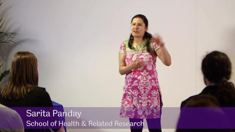 Thumbnail for entry A Journey to Save Mothers - Sarita Panday, School of Health and Related Research