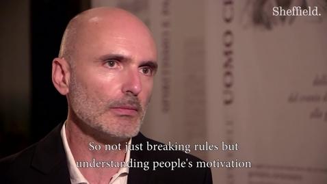 Thumbnail for entry Silvano Montaldo, Director of Museo di Antropologia Criminale Cesare Lombroso - Università di Torino