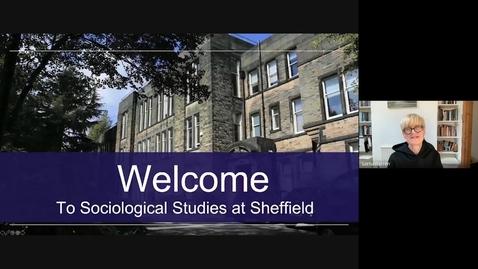 Thumbnail for entry Sociology Pre-Offer Open Day presentation September 2021