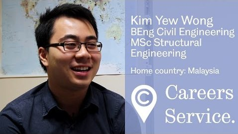 Thumbnail for entry Kim Yew Wong BEng Civil & MSc Structural Engineering, Eastwood and Partners