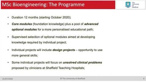 Thumbnail for entry MSc Bioengineering
