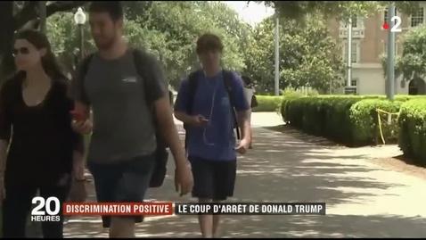 Thumbnail for entry 4a. Discrimination positive - Le coup d'arrêt de Donald Trump - Quiz