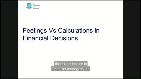 Thumbnail for entry Behavioural finance session  with subtitles