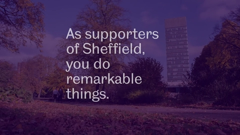 Thumbnail for entry Sheffield Supporters