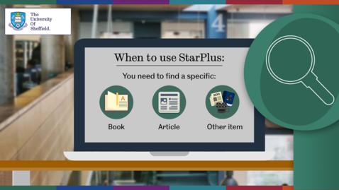 Thumbnail for entry Using StarPlus