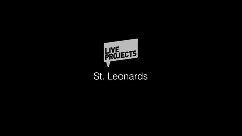 Thumbnail for entry SSoA Live Projects 2019 - St Leonards