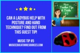 Music Teacher Tip #5: Ladybug Manipulative