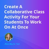 Create A Collaborative Class Activity For Your Students Vi