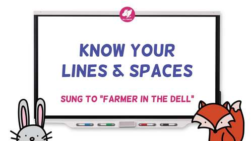 FREE - Know Your Lines and Spaces Song - Video