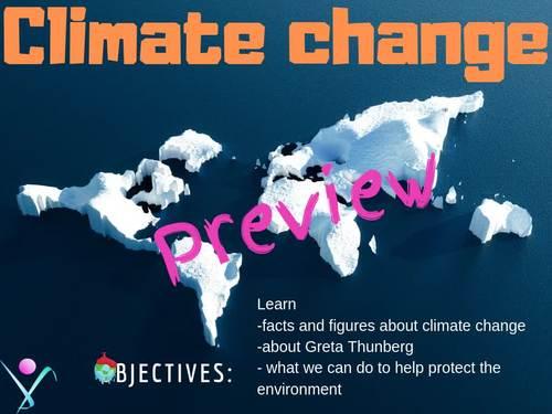 Climate change interactive activities